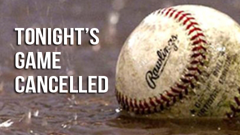 Baseball & Softball Games Cancelled Tonight