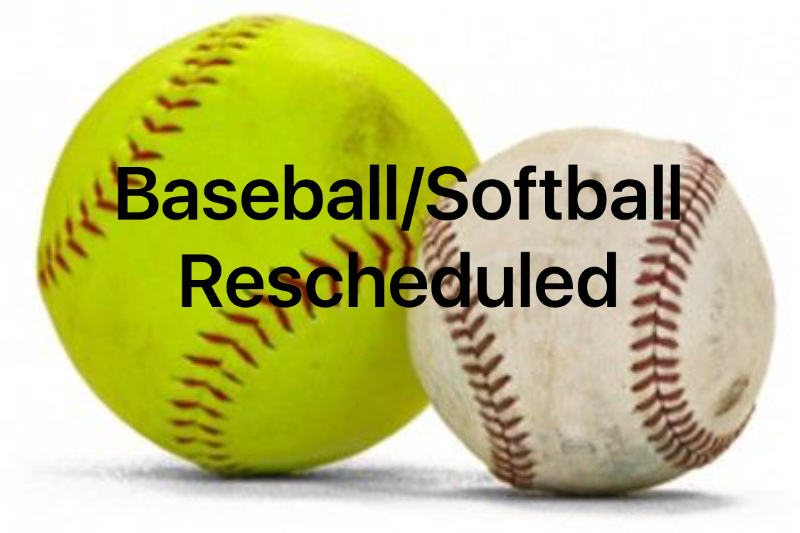Rainout Games Rescheduled
