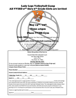 LADY LEPS VOLLEYBALL CAMP