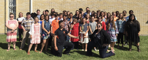 6th Grade Band Receives Division 1