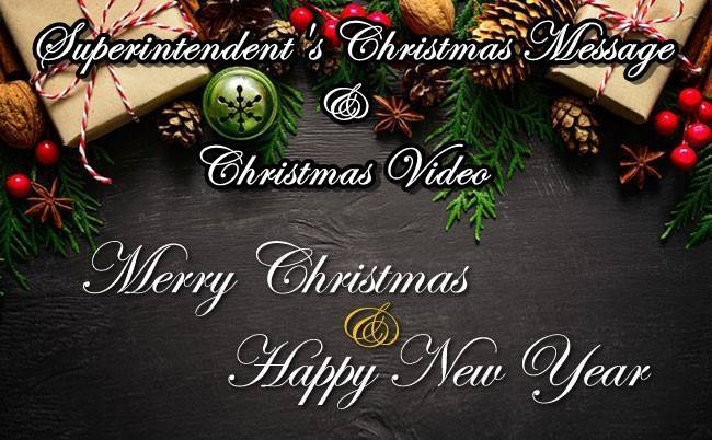 Superintendent's Holiday Message & Video