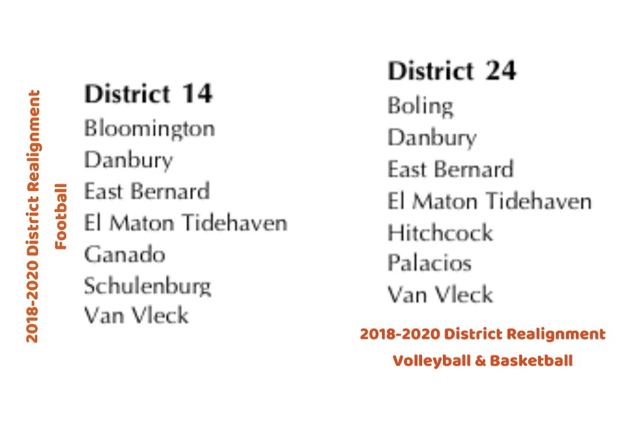 2018-2020 District Realignments