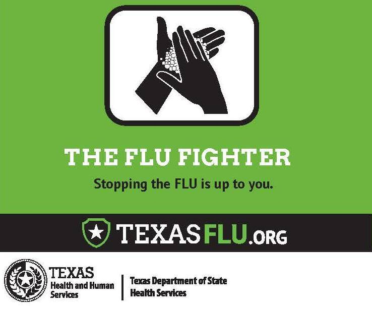 STOPPING THE FLU IS UP TO YOU!