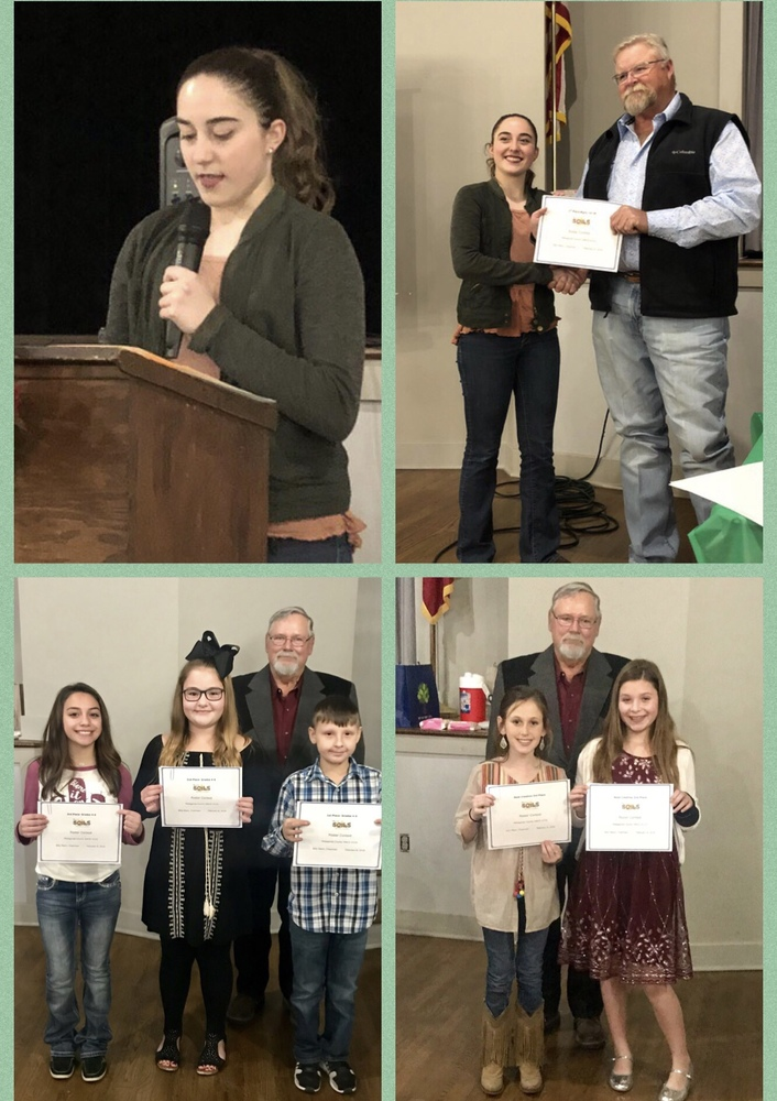 Van Vleck ISD students shine at the Matagorda County Soil and Water Conservation Awards Banquet