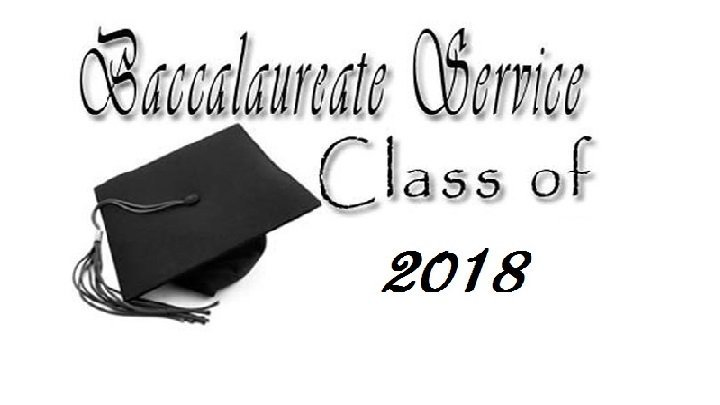 2018 Baccalaureate Service