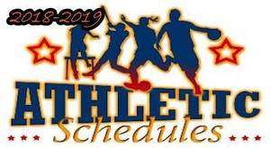 Latest Athletic Schedules