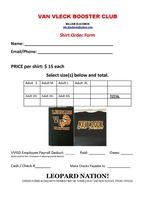 All Sports Booster Club T-Shirt On Sale