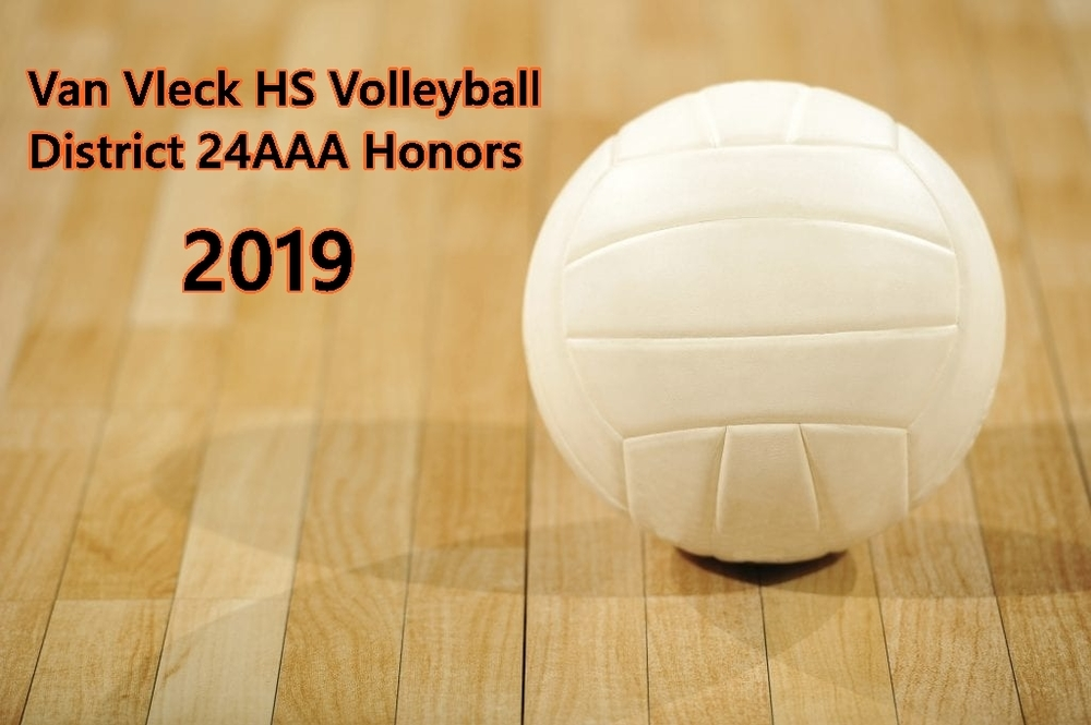 VVHS Volleyball District Honors