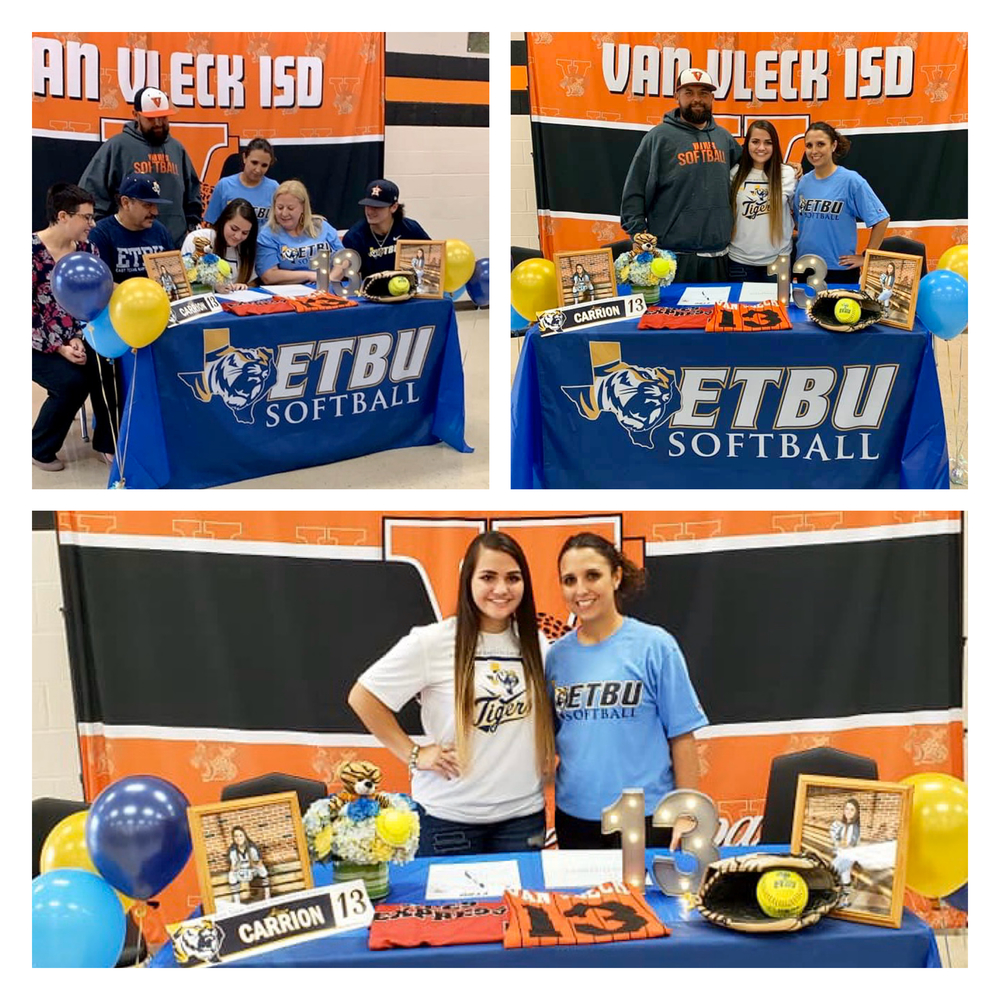 Carrion Signs With East Texas Baptist University