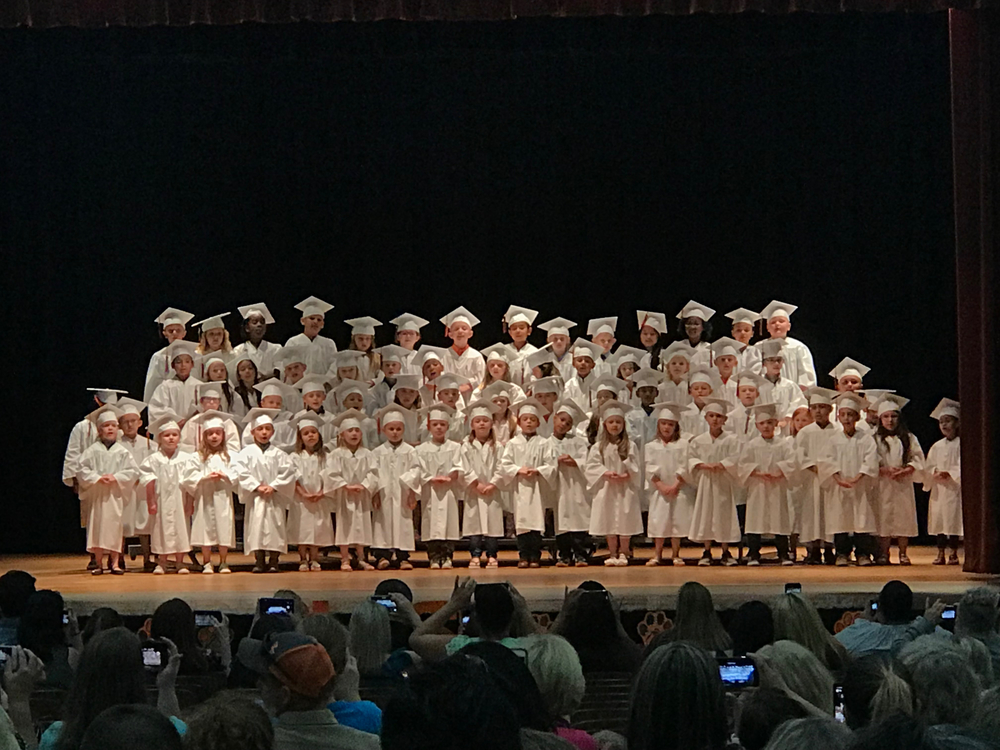 Congratulations to our Van Vleck Elementary Kindergarteners! Class of 2031!