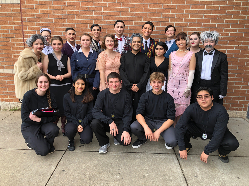 VVHS One-Act Play Cast & Crew Advance From District - Go Leopard Players!