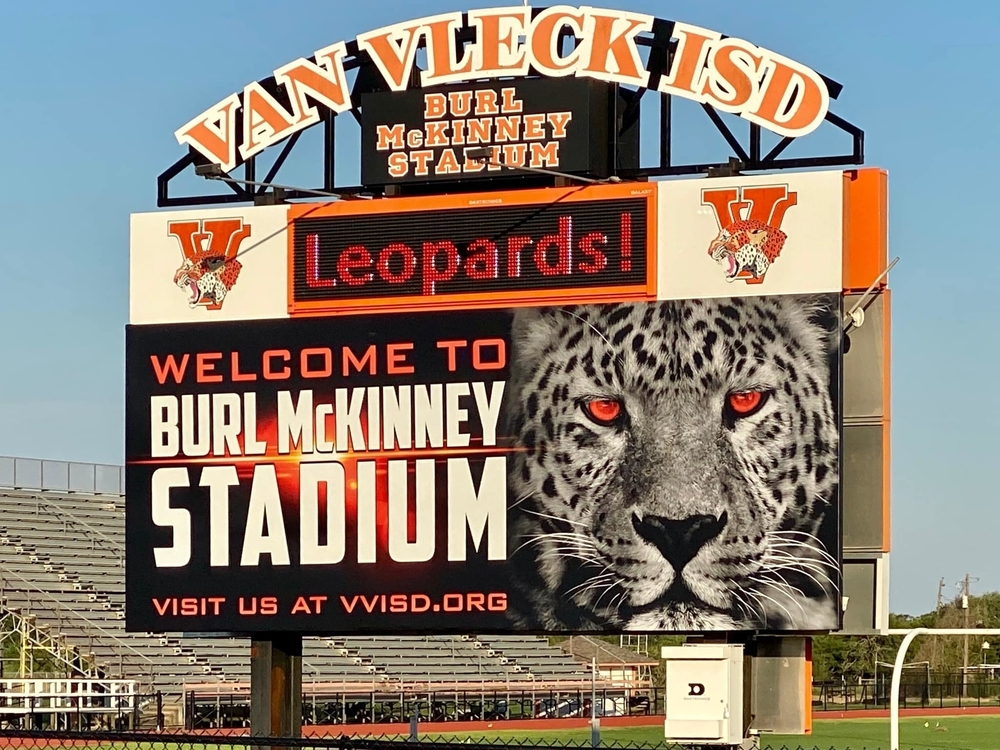 Van Vleck Leopards vs Brazos Cougars