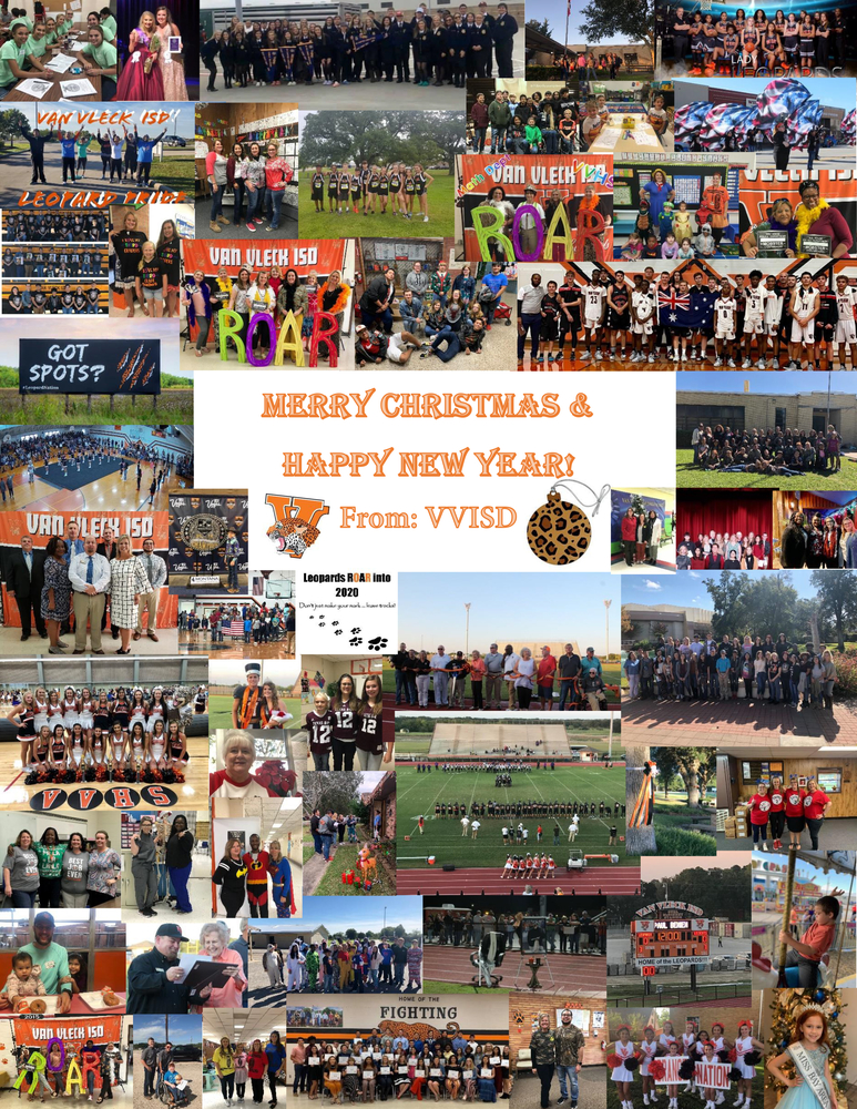 Merry Christmas & Happy New Year - From: VVISD