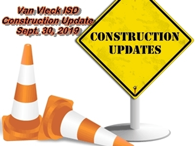 VVISD Construction Update (Sept. 30, 2019)