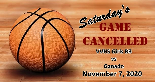 Saturday's Girls Basketball Game Cancelled