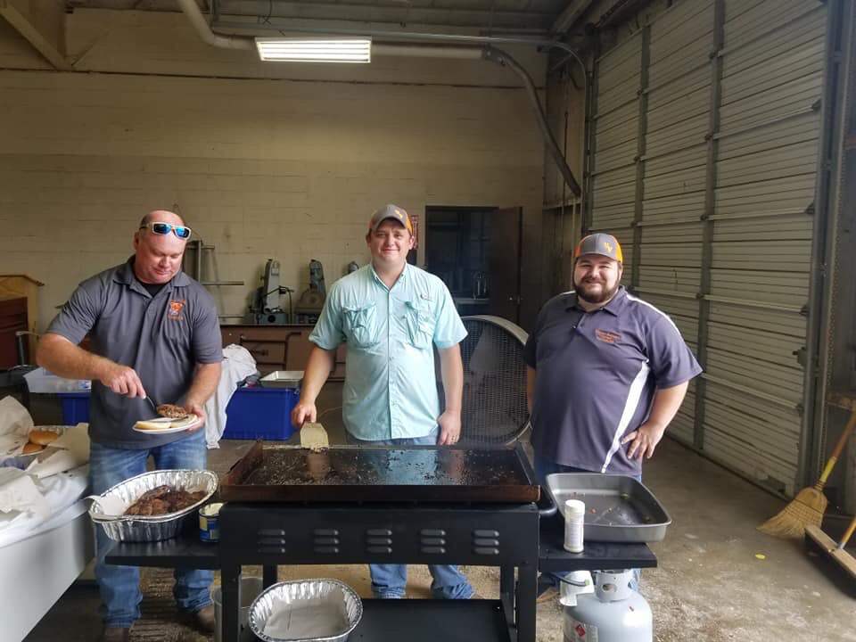VVHS FFA Host Matagorda County 1st Responders for Annual Luncheon