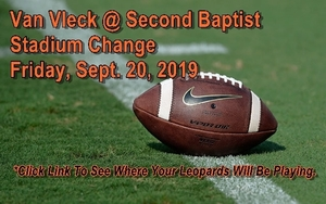 Leopards Move Friday's Game To HBU Husky Stadium
