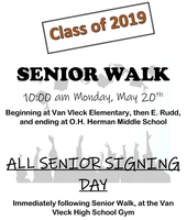 Class of 2019 Walk & Signing Day