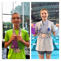 Future Leopard Swimmers Compete at Nationals