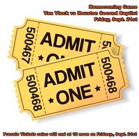 Presale Football Ticket Info. (Homecoming)
