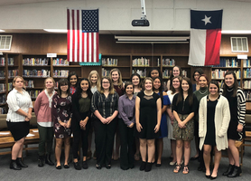 Van Vleck High School POWER SET Holds 7th Annual Induction Ceremony