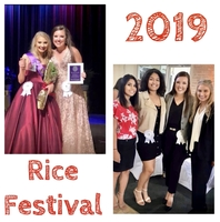 VVHS Represented Well at Rice Festival Pageant