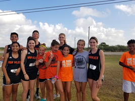 Cross Country Runs First Course