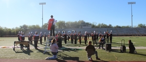 The Mighty Leopard Band Performs at Area Contest