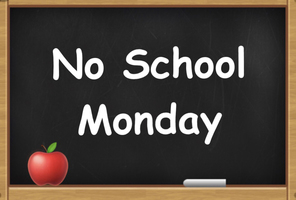 No School For Students Monday 9/24/18