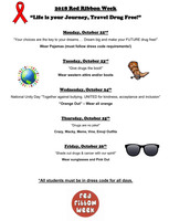 Red Ribbon Week Coming Soon! Oct 22 - Oct 26